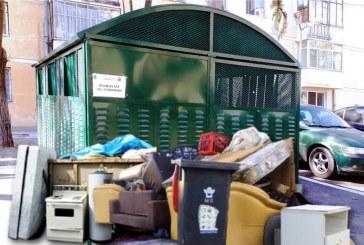 Colectare gratuită de deșeuri mari, azi, la Râmnicu Vâlcea