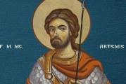 Calendar creștin ortodox: Sf. M. Mc. Artemie